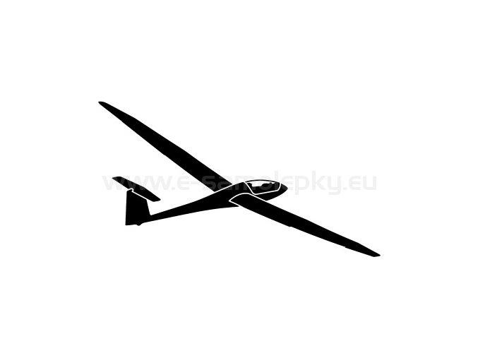 Samolepka - Letadlo Discus CS