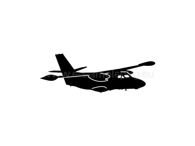 Samolepka - Letadlo L-410 Turbolet