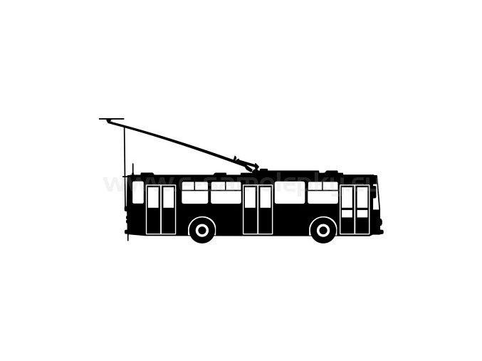 Samolepka - Trolejbus 14Tr