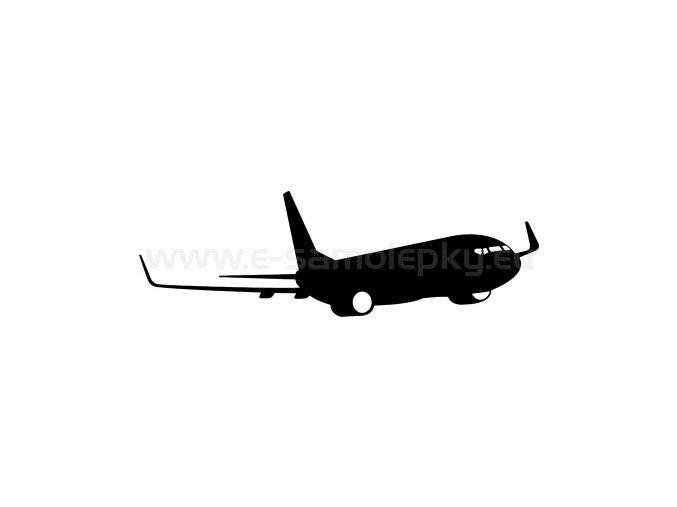Samolepka - Letadlo 13