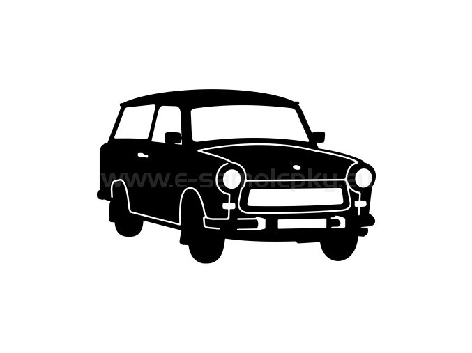 Samolepka - Trabant Combi