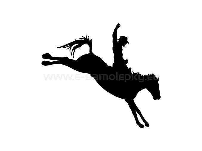 Samolepka - Kůň 35
