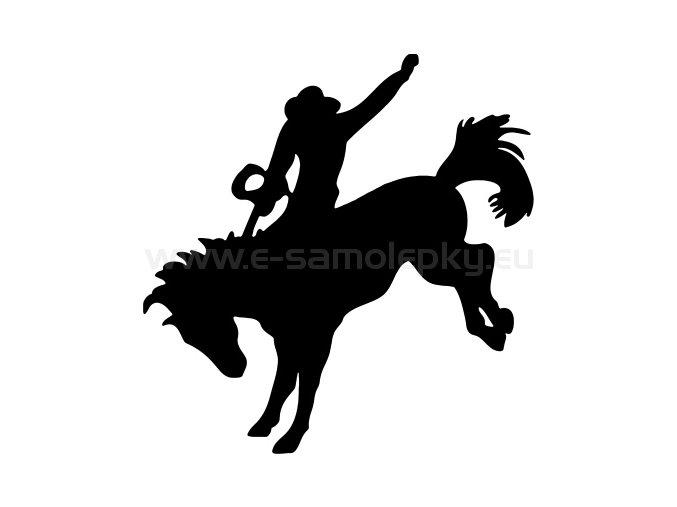Samolepka - Kůň 36
