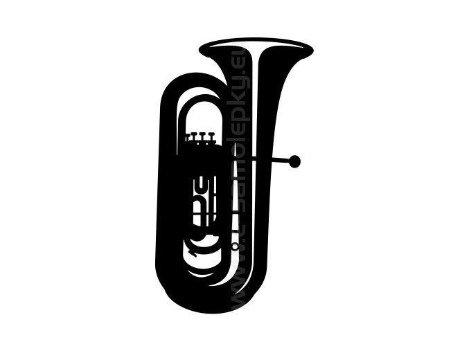 Samolepka - Tuba