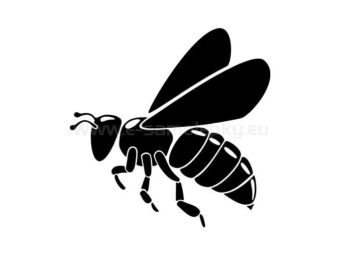 Samolepka - Včela