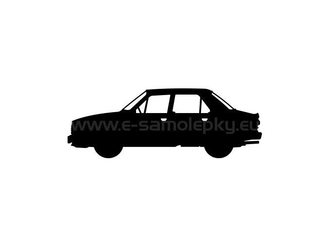Samolepka - Škoda 120 M