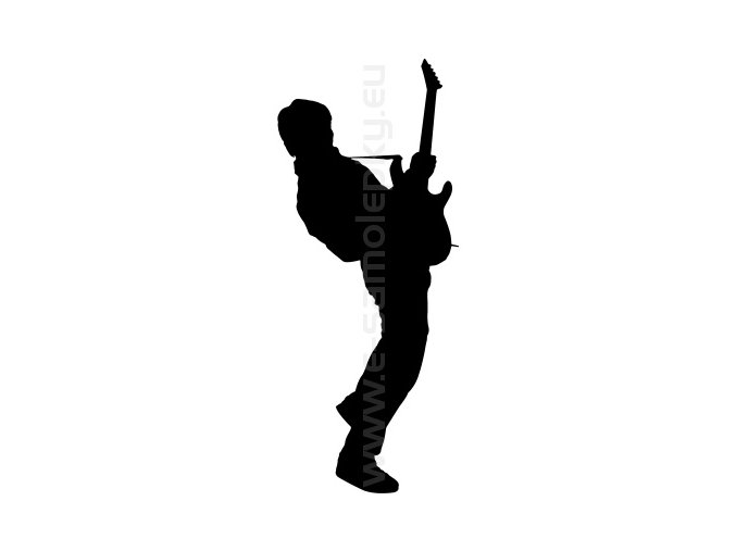 Samolepka - Kytarista