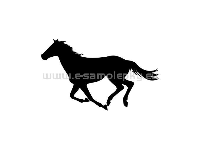 Samolepka - Kůň 55