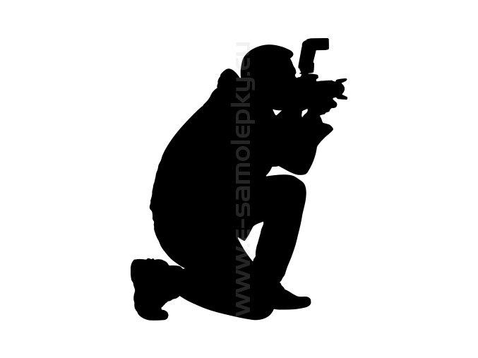 Samolepka - Fotograf 03