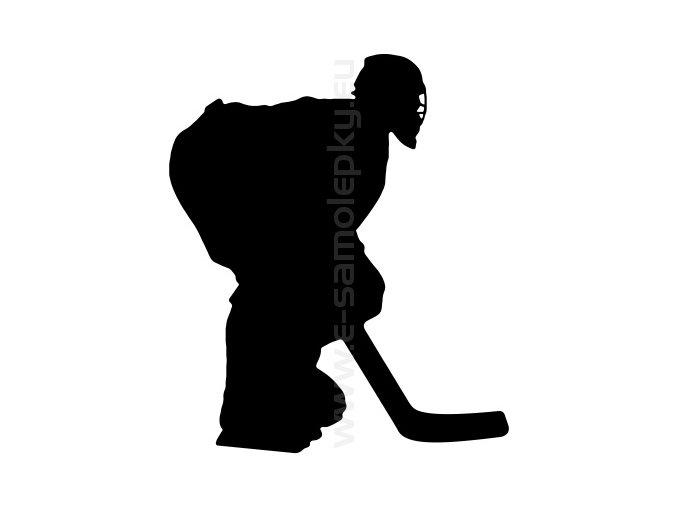 Samolepka - Hokejista 16