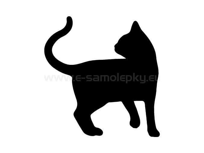 Samolepka - Kočka 20