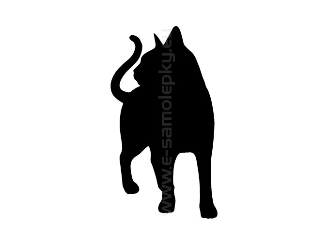 Samolepka - Kočka 21