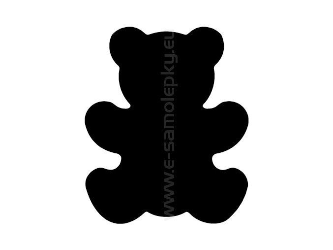 Samolepka - Medvídek 02