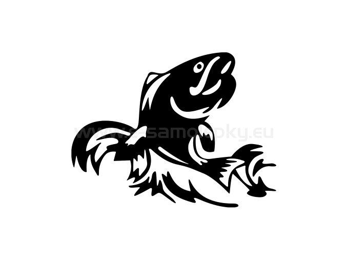 Samolepka - Ryba 06