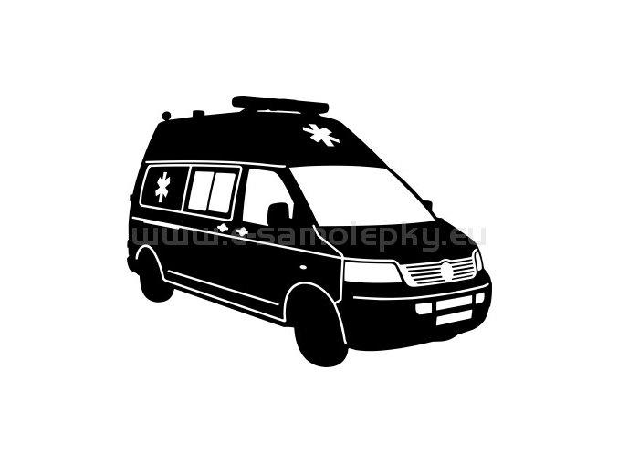 Samolepka - Volkswagen SANITKA