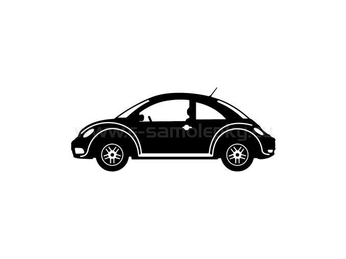 Samolepka - Volkswagen New Beetle