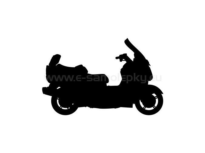 Samolepka - Motocyklista 35