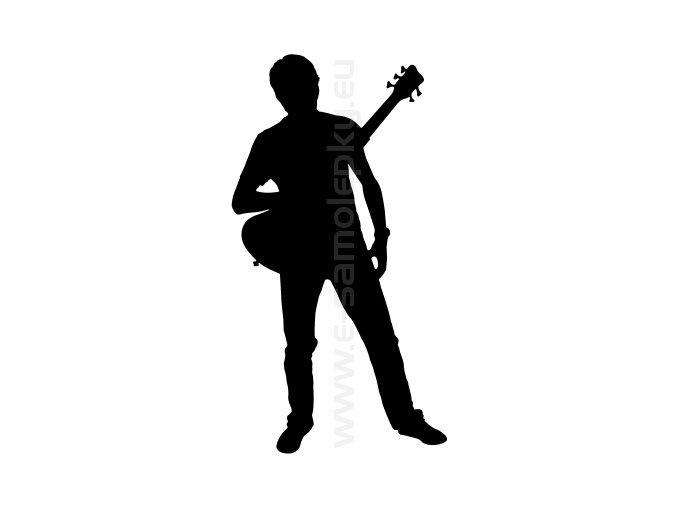 Samolepka - Kytarista 02