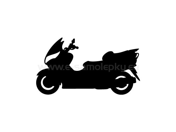 Samolepka - Motocyklista 23