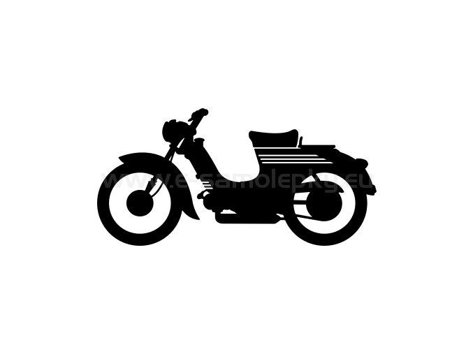 Samolepka - Jawa 555