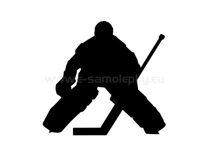 Samolepka - Hokejista 18