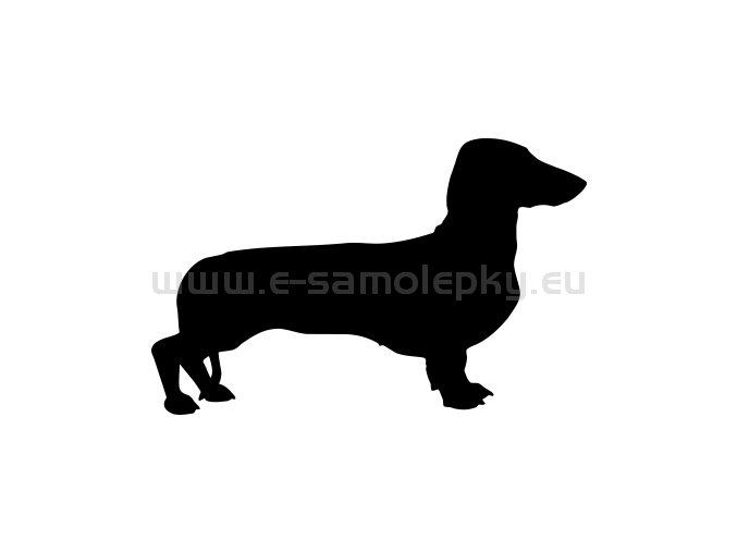 Samolepka - Pes 75