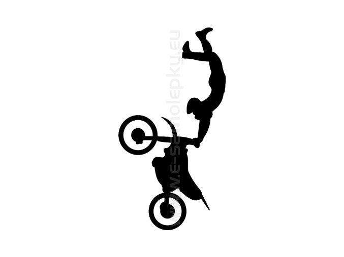 Samolepka - Motocyklista 38