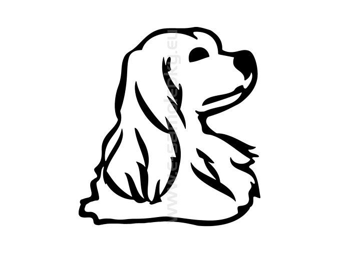 Samolepka - Pes 59