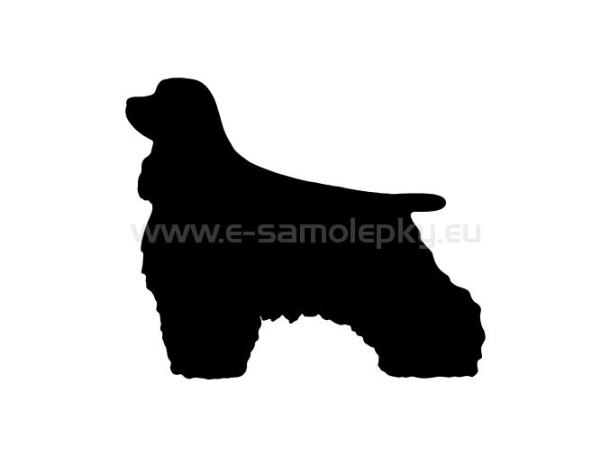 Samolepka - Pes 60