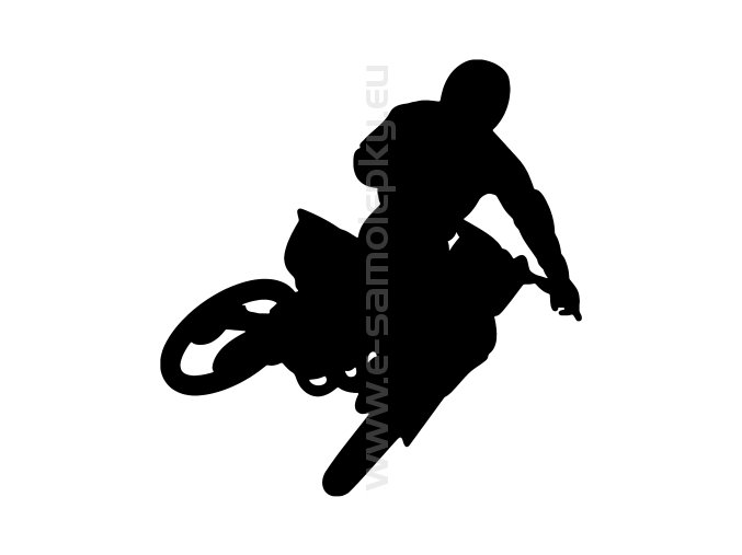 Samolepka - Motocyklista 37