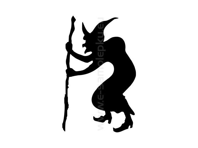 Samolepka - Čarodějnice 05