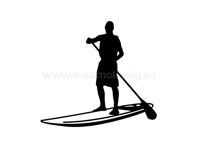 Samolepka - Paddleboarding 02