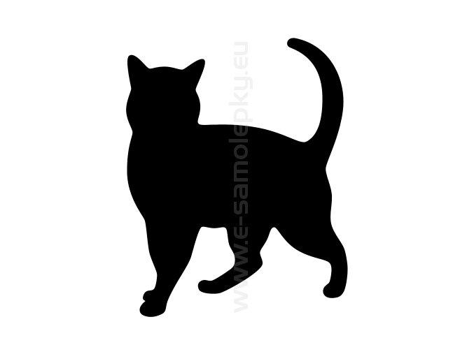 Samolepka - Kočka 22