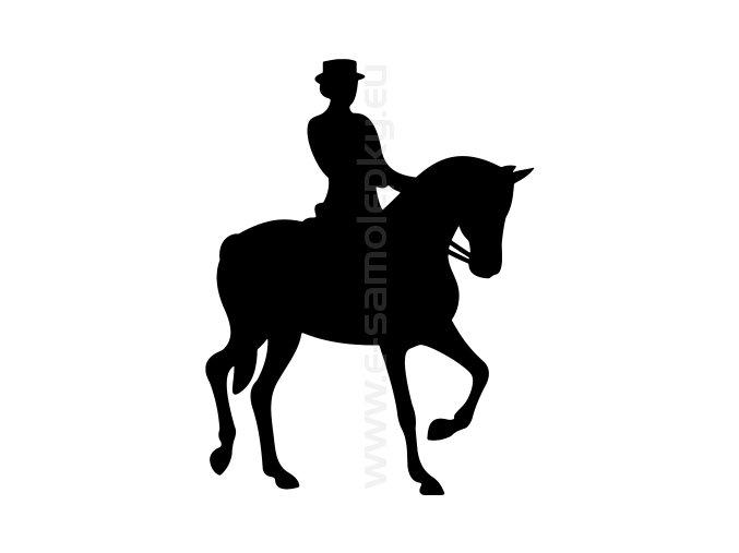 Samolepka - Kůň 42