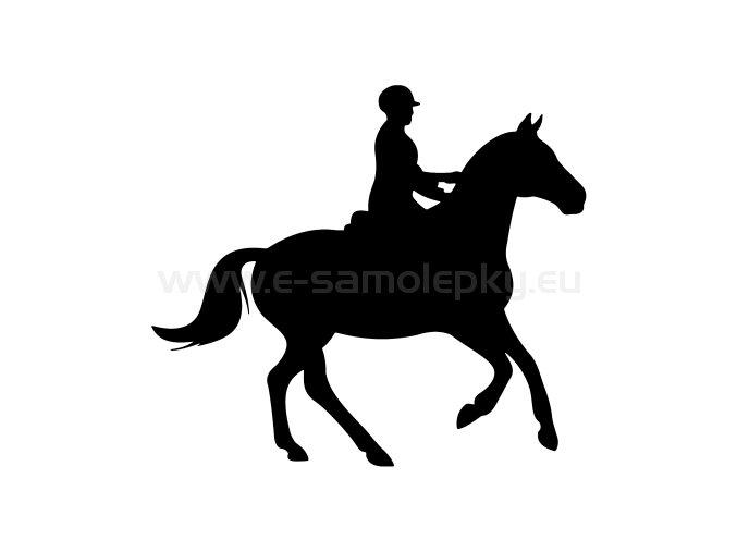 Samolepka - Kůň 44