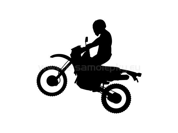 Samolepka - Motocyklista 39