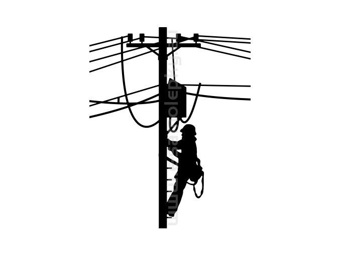 Samolepka - Elektrikář