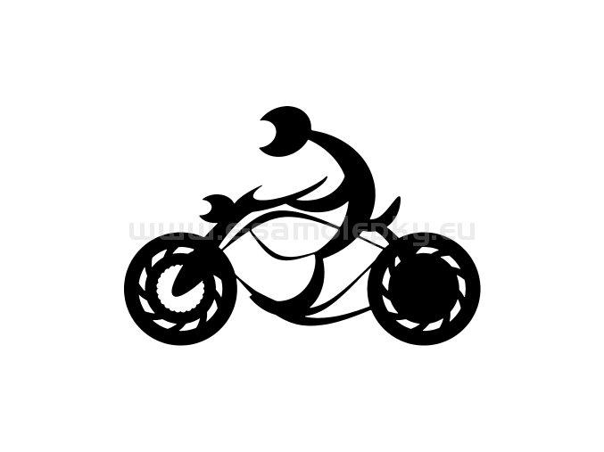 Samolepka - Motocyklista 41