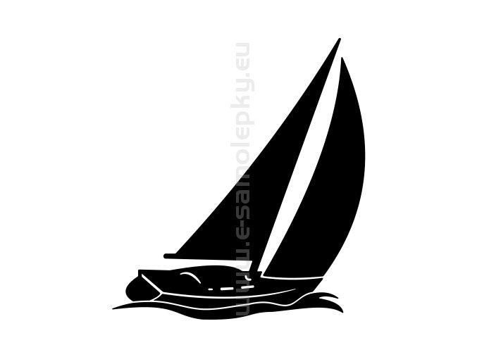 Samolepka - Jachting 11