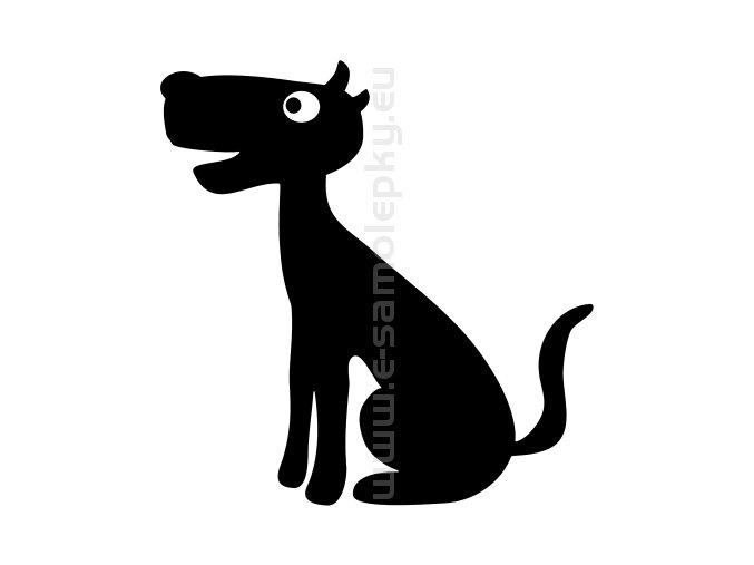 Samolepka - Pes 70