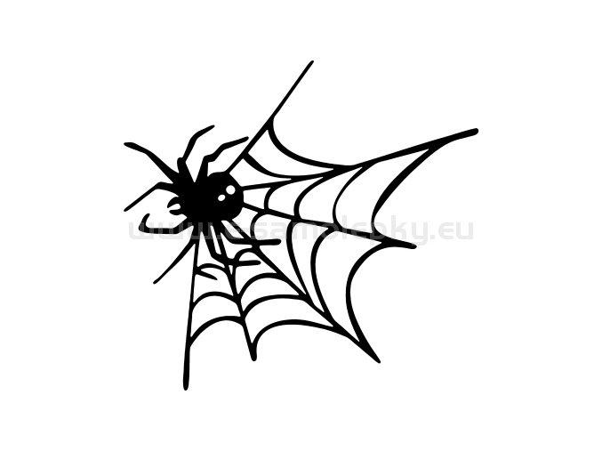 Samolepka - Pavouk 02
