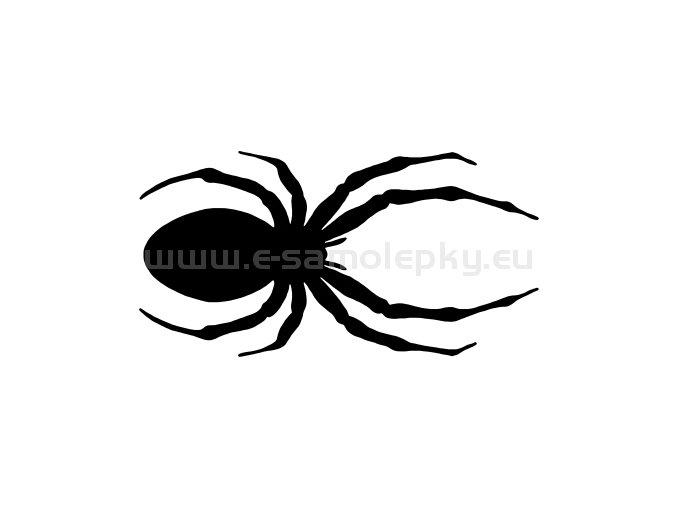 Samolepka - Pavouk 03
