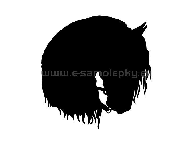 Samolepka - Kůň 48