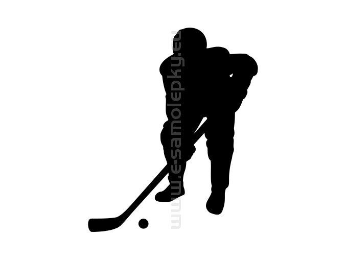 Samolepka - Hokejbalista 02