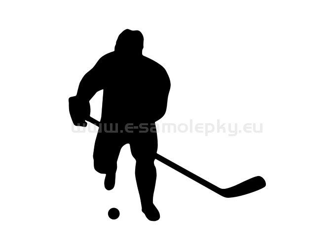 Samolepka - Hokejbalista 03
