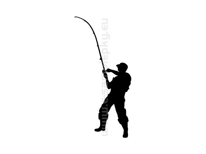 Samolepka - Rybář 10