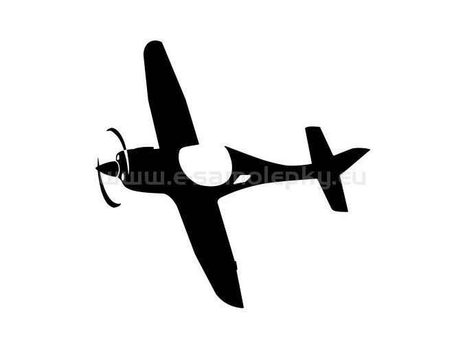 Samolepka - Letadlo 17