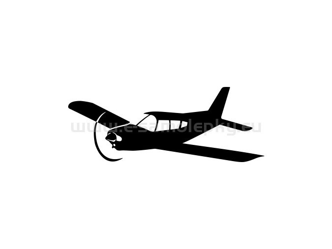 Samolepka - Letadlo Piper PA 28