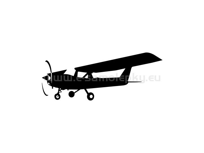 Samolepka - Letadlo Cessna 152