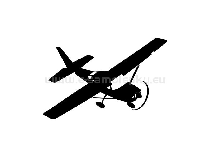 Samolepka - Letadlo Cessna 206